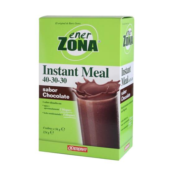 INSTANT MEAL 40-30-30 CHOCOLATE 4x56g de Enerzona