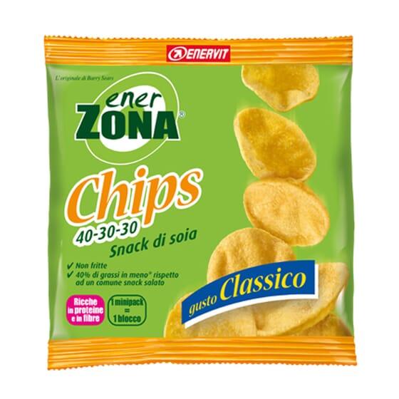Chips di Soia Gusto Classico 5 x 23g di Enerzona