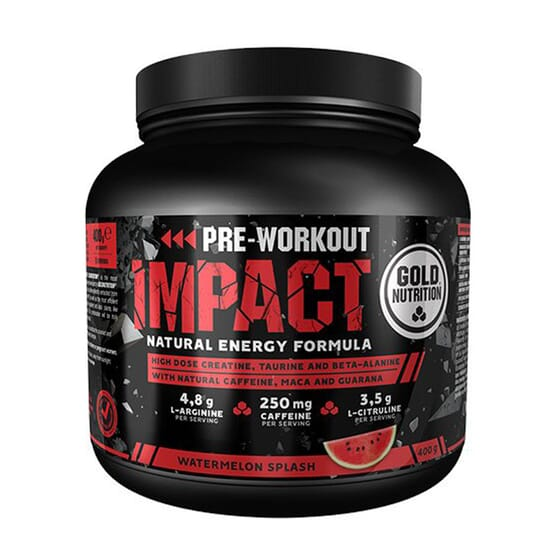 PRE WORKOUT IMPACT 400g da Gold Nutrition