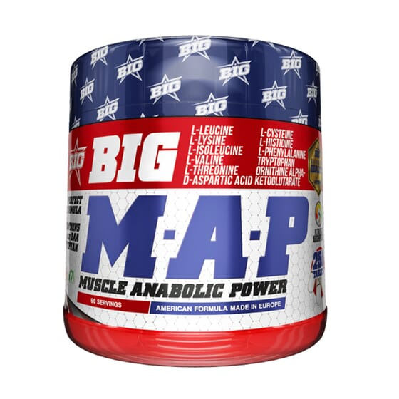 MAP MUSCLE ANABOLIC POWER 250 Tabs de Big