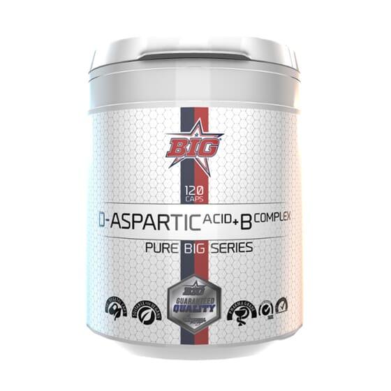 D-ASPARTIC ACID + B COMPLEX 120 VCaps da Big