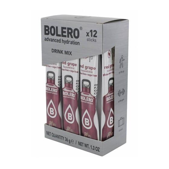 BOLERO UVA ROJA (CON STEVIA) 12 Sticks de 3g