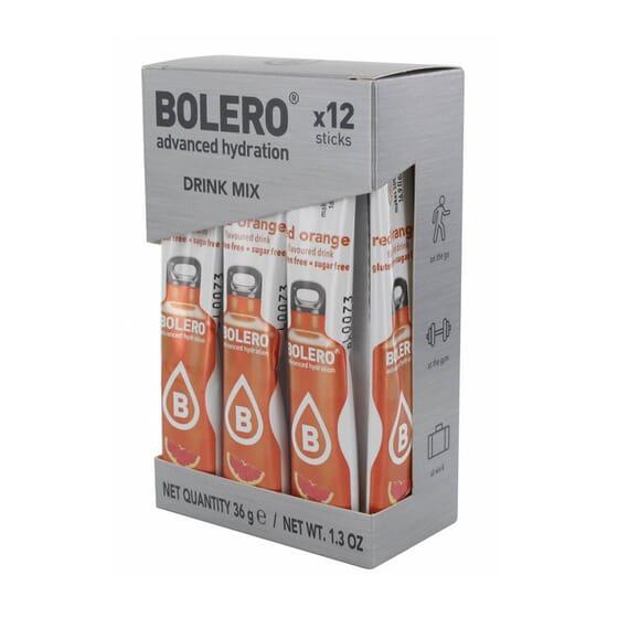Bolero Arancia Rossa (Con Stevia) 12 Stick Da 3g di Bolero
