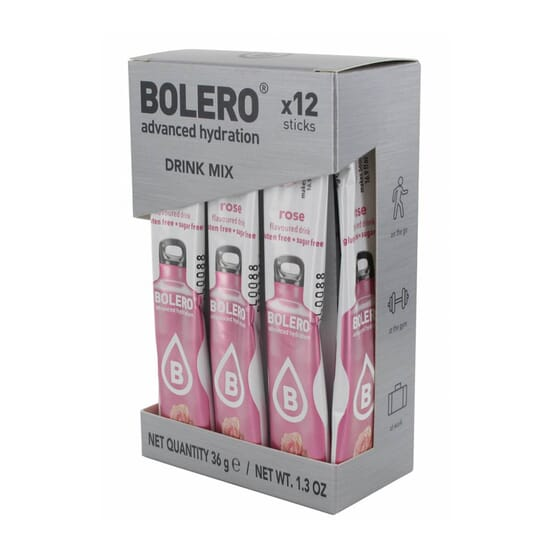 BOLERO ROSA (CON STEVIA) 12 Sticks de 3g