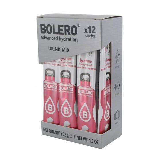 Bolero Litchi (Con Stevia) 12 Stick Da 3g di Bolero