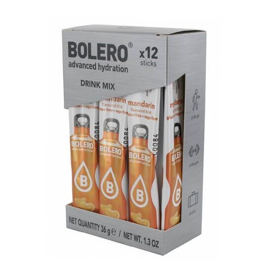 BOLERO MANDARINA (CON STEVIA) 12 Sticks de 3g