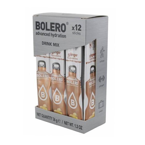 Bolero Zenzero (Con Stevia) 12 Stick Da 3g di Bolero