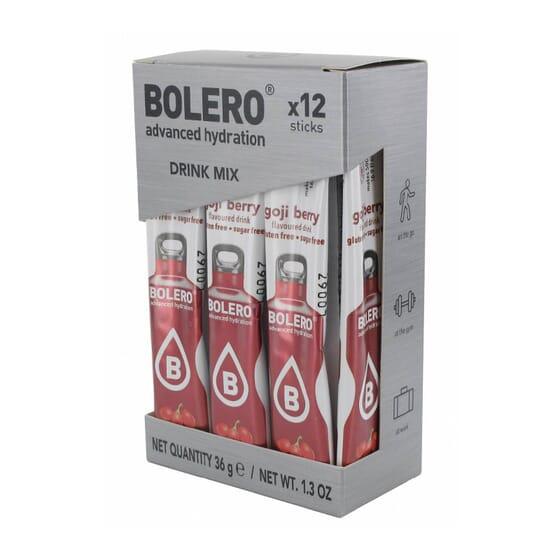 BOLERO BAGAS DE GOJI (COM STEVIA) 12 Sticks de 3g