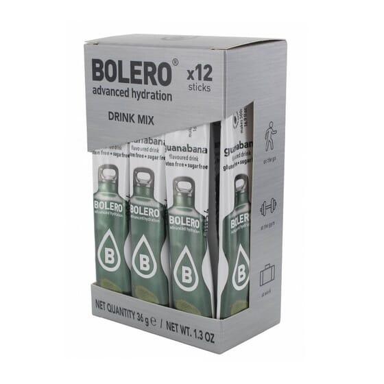 BOLERO GRAVIOLA (COM STEVIA) 12 Sticks de 3g