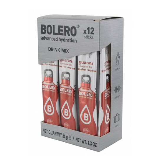BOLERO GUARANÁ (CON STEVIA) 12 Sticks de 3g