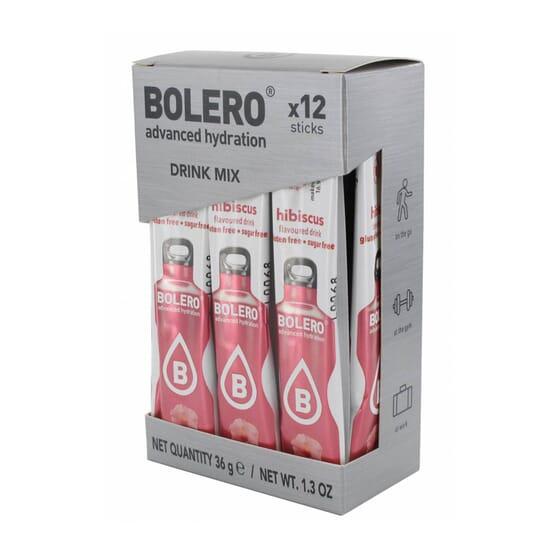 Bolero Fiori Di Ibisco (Con Stevia) 12 Stick Da 3g di Bolero