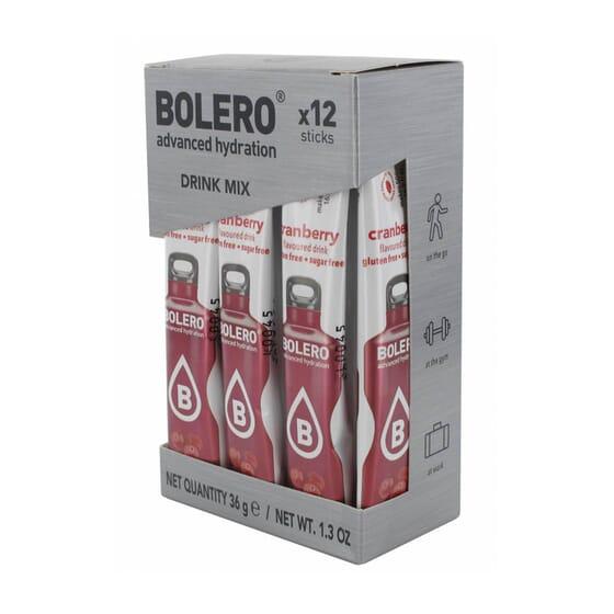 BOLERO ARÁNDANO ROJO (CON STEVIA) 12 Sticks de 3g