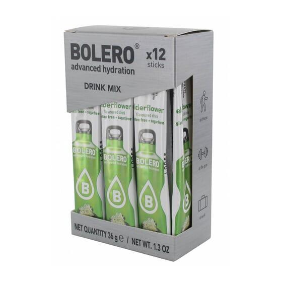Bolero Fiori Di Sambuco (Con Stevia) 12 Stick Da 3g di Bolero