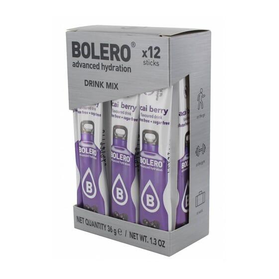 BOLERO ACAI (CON STEVIA) 12 Sticks de 3g
