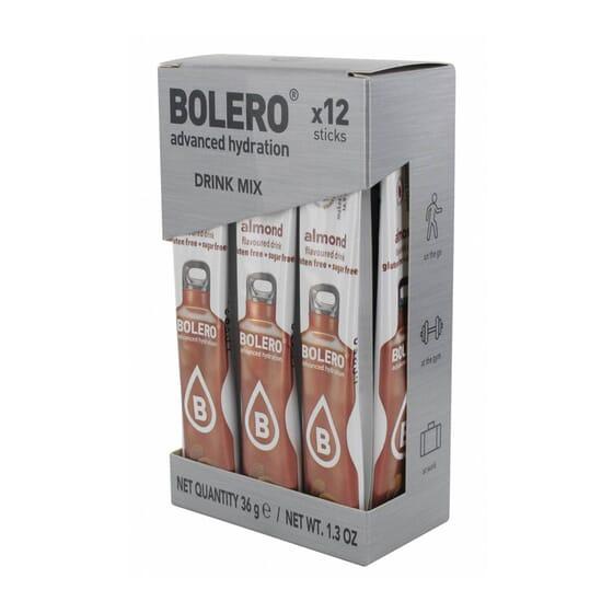 BOLERO AMÊNDOA (COM STEVIA) 12 STICKS DE 3g