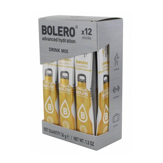 BOLERO PLÁTANO (CON STEVIA) 12 Sticks de 3g