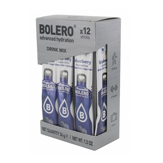 Bolero Mirtillo (Con Stevia) 12 Stick Da 3g di Bolero