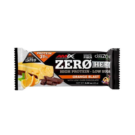 ZERO HERO 31% PROTEIN BAR 1 Barra de 65g da Amix Nutrition