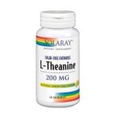 L-TEANINA 200MG 30 Tabletas Masticables de Solaray