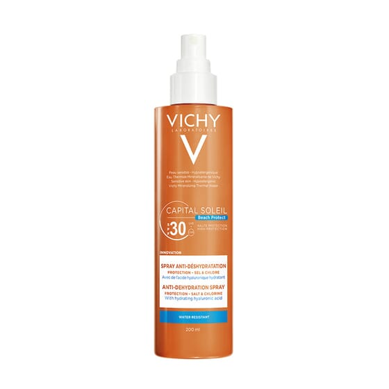 CAPITAL SOLEIL SPRAY ANTI DESIDRATAÇÃO SPF30 200ml da Vichy
