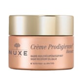 Crème Prodigieuse Boost Baume-Huile Récupérateur Nuit 50 ml de Nuxe