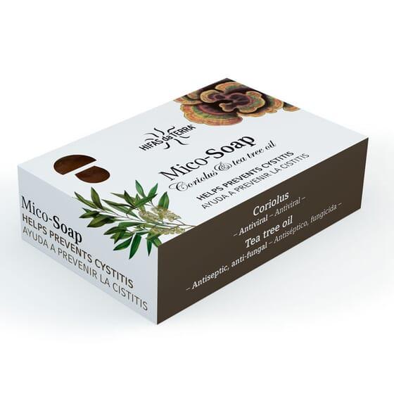 MICO-SOAP SAPONE CORIOLUS E OLIO DI TEA TREE 150 g di Hifas da Terra