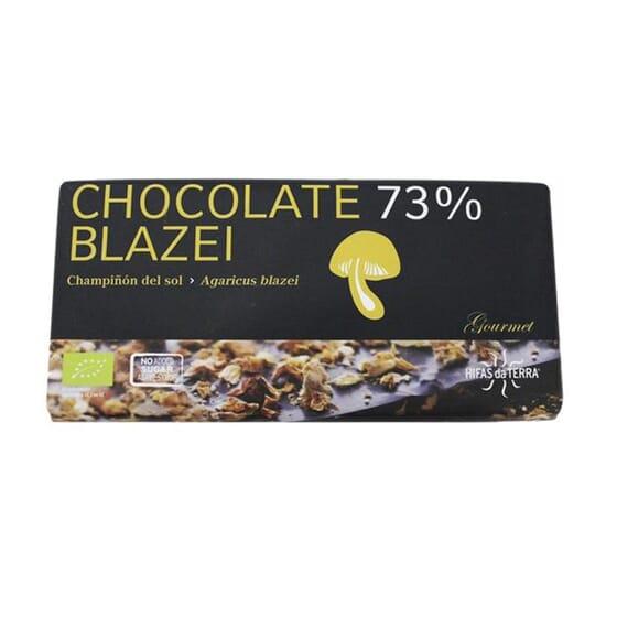 Cioccolato 73% Blazei Bio 100g di Hifas da Terra