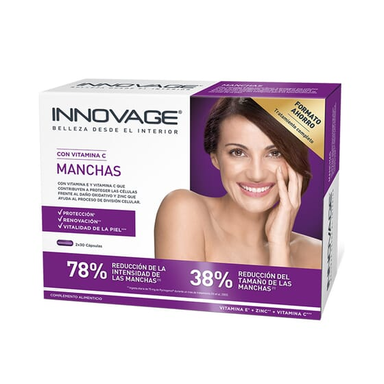 INNOVAGE MANCHAS DUPLO 30 Caps 2 Unds da Innovage