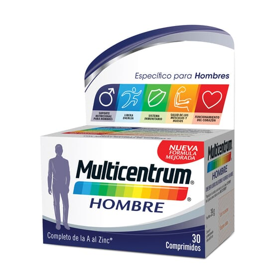 MULTICENTRUM HOMME 30 Capsules - MULTICENTRUM