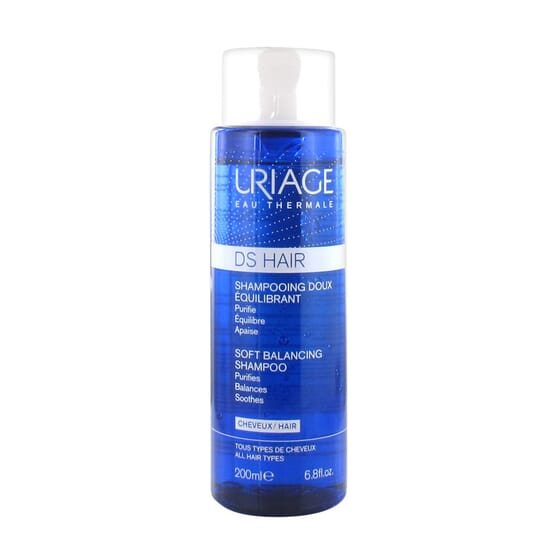 D.S HAIR CHAMPÔ SUAVE REGULADOR 200ml da Uriage
