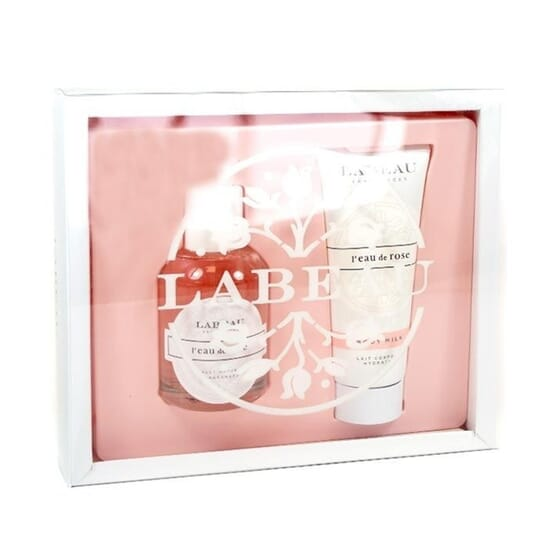 Labeau Fragance Cofanetto L'Eau De Rose 100 ml + Body Milk 2 x 100 ml di Labeau