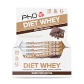 DIET WHEY BAR 12 x 65g da PhD Nutrition