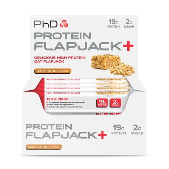 PROTEIN FLAPJACK+ 12 x 75g de PhD Nutrition