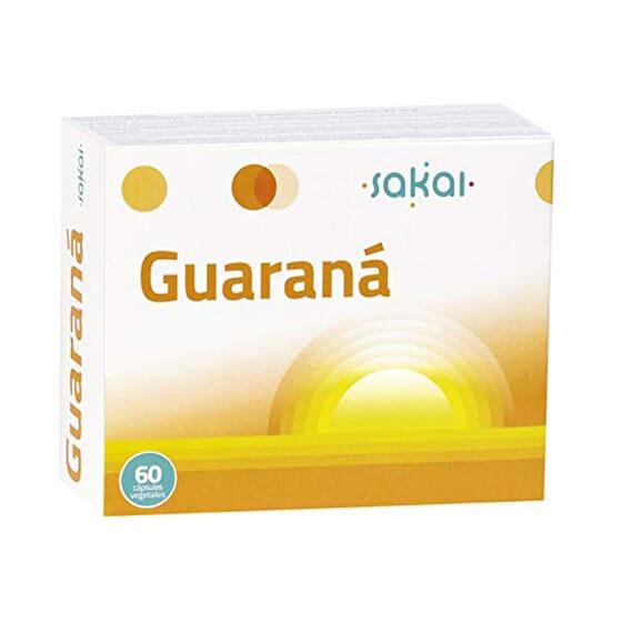 Guarana Gélules 60 Caps de Sakai