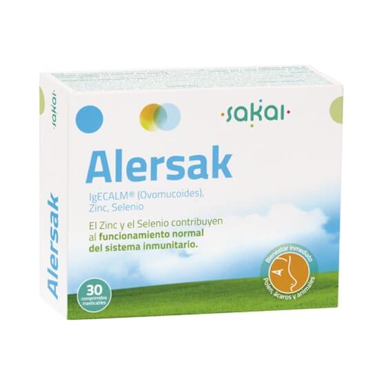 ALERSAK 30 Tabletas masticables de Sakai