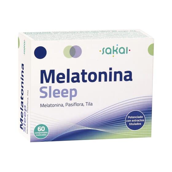 MELATONINA SLEEP 60 Tabletas masticables de Sakai