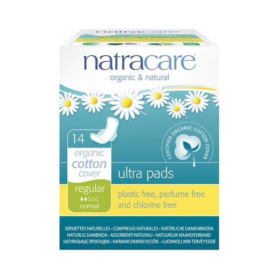 Compresas Ultra Regular 14 Uds de Natracare