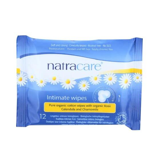 Toalhitas Higiene Íntima 12 Un da Natracare