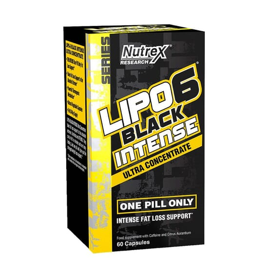 LIPO 6 BLACK INTENSE ULTRA CONCENTRATE 60 VCaps