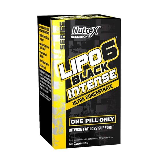LIPO 6 BLACK INTENSE ULTRA CONCENTRATE 60 VCaps de Nutrex