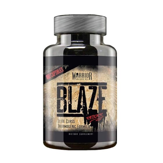 WARRIOR BLAZE REBORN FAT BURNERS 180 VCaps