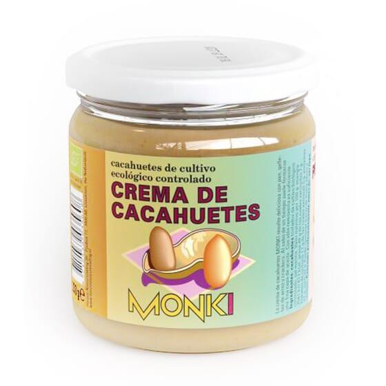 CREMA DE CACAHUETES ECO 330g de Monki