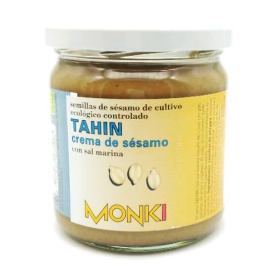 Tahin Crema di Sesamo con Sale Marino Bio 330g di Monki
