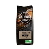Café En Grano Tradición Arabica Robusta Bio 1 Kg de Destination