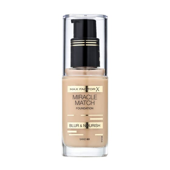 Miracle Match Foundation #60 Sand 30 ml di Max Factor