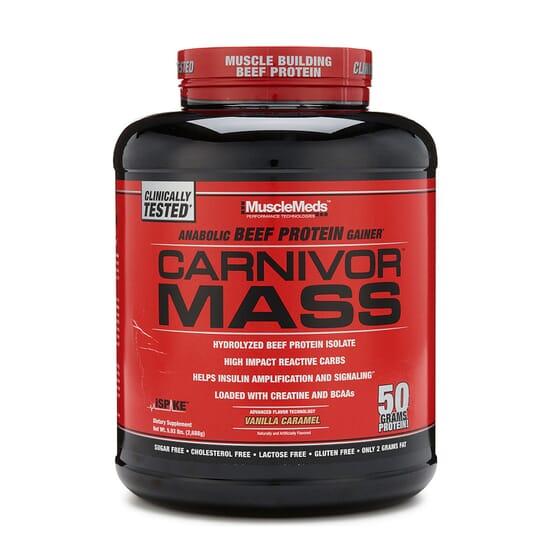 Carnivor Mass 2744g di Musclemeds