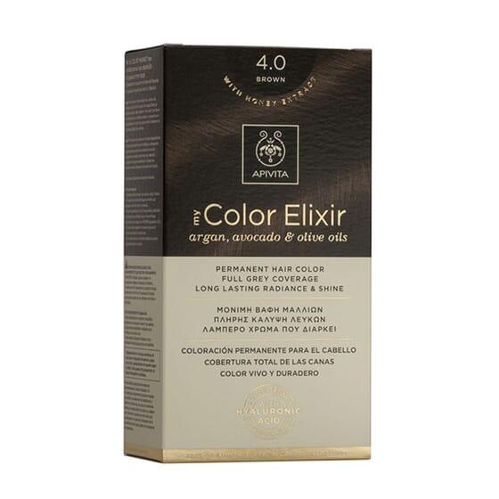 MY COLOR ELIXIR N4.0 BROWN 1Ud de Apivita