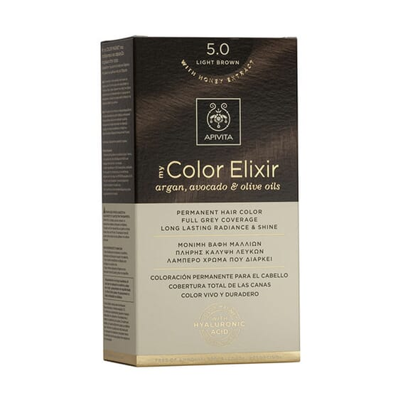 MY COLOR ELIXIR N5.0 LIGHT BROWN 1Ud de Apivita