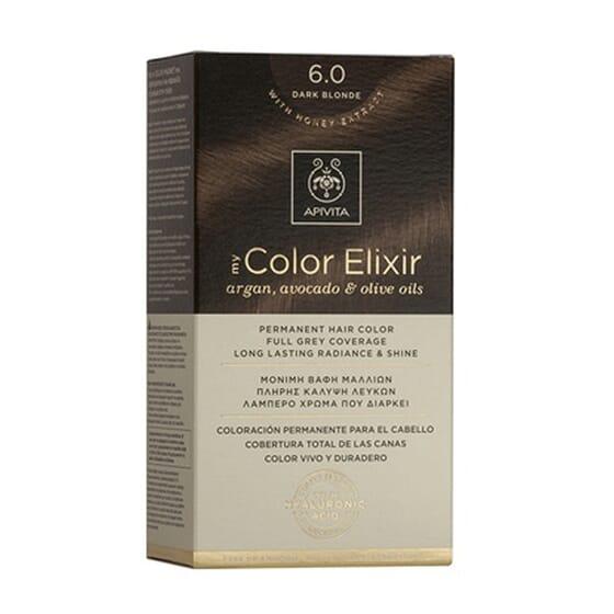 MY COLOR ELIXIR N6.0 DARK BLONDE 1Ud de Apivita