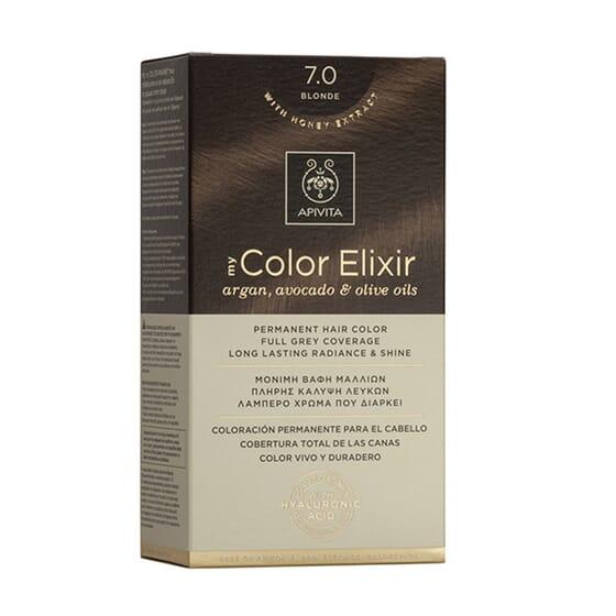 MY COLOR ELIXIR N7.0 BLONDE 1Un da Apivita